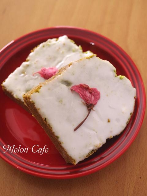春の抹茶パウンドケーキ桜とひなまつり10