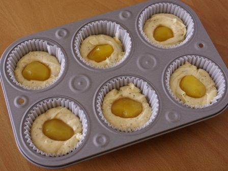 栗まるごと紅茶のはちみつカップケーキ04