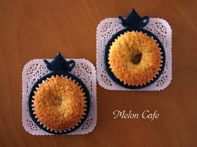栗まるごと紅茶のはちみつカップケーキ