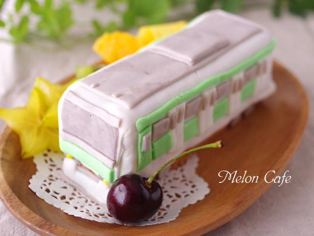 おやつづくりパーティ電車のケーキ山手線車両