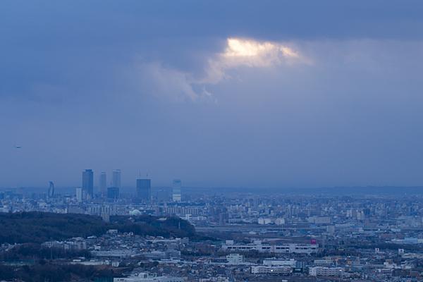 名古屋駅方面の風景