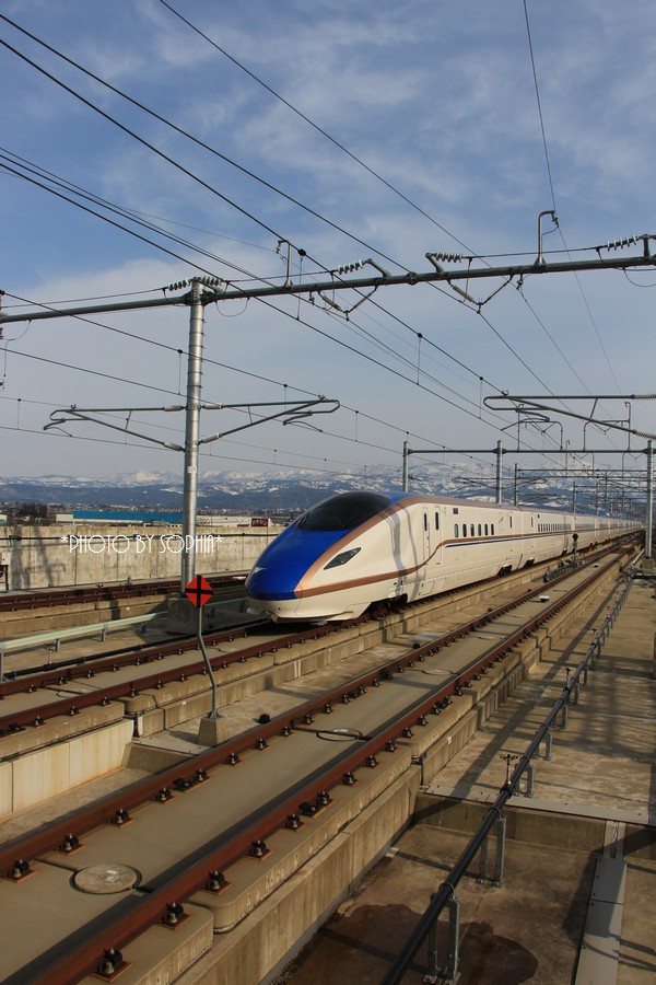 北陸新幹線・はくたか