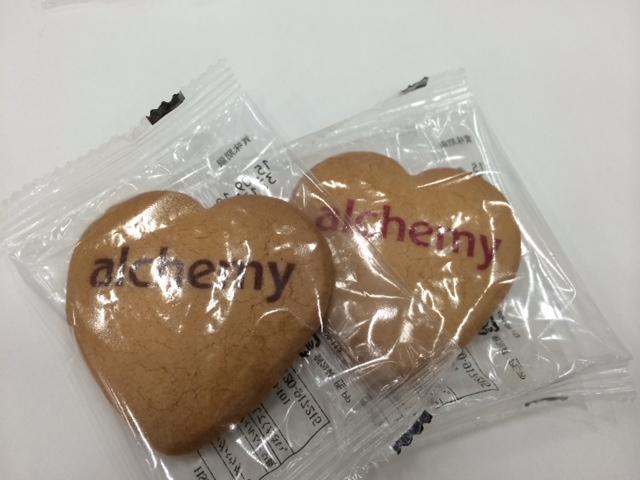 アルケミー オリジナルクッキー