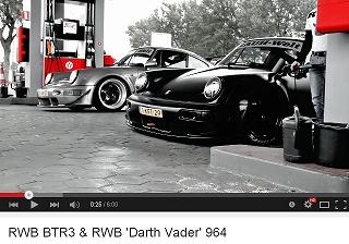 ポルシェ964 RWB BTR3 & RWB 'Darth Vader' 964