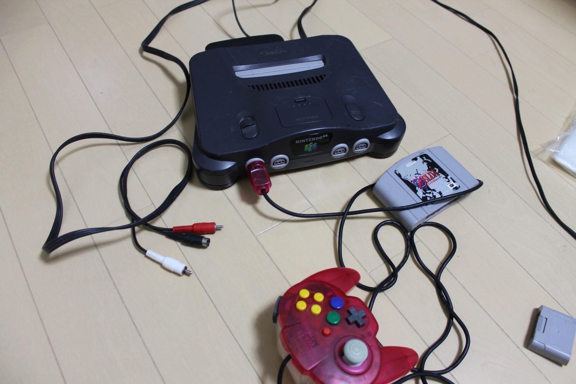 懐かしいゲーム機たち