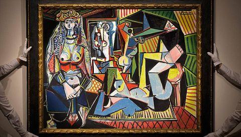ピカソの絵、史上最高額の215億円で落札 海外の反応