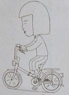 野口さん自転車