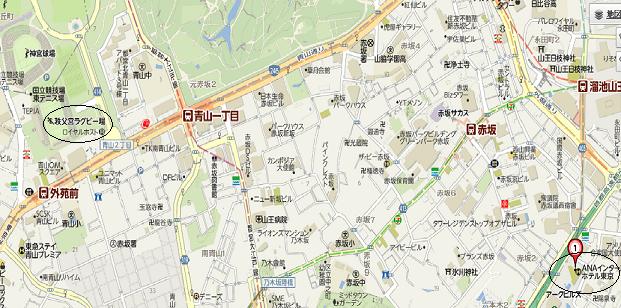 インターコンチネンタルホテル東京