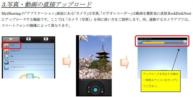RockDisk 写真自動UP