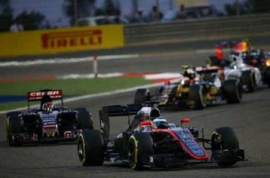 F1 バーレーン2015