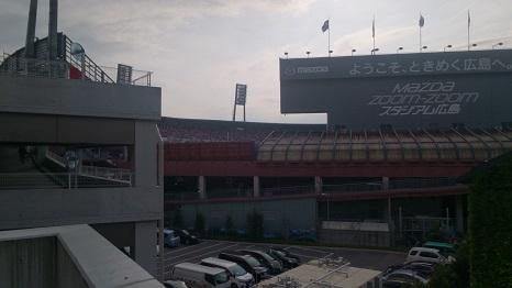 マツダスタジアム内