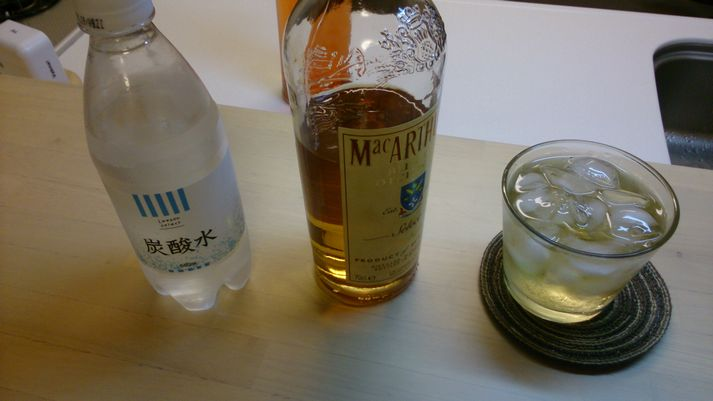 ウイスキーソーダ割